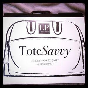 Tote Savvy diaper bag organizer